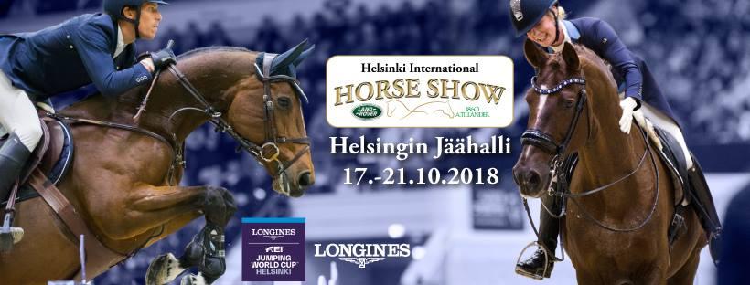 Helsinki International Horse Show 17-21/10/2018