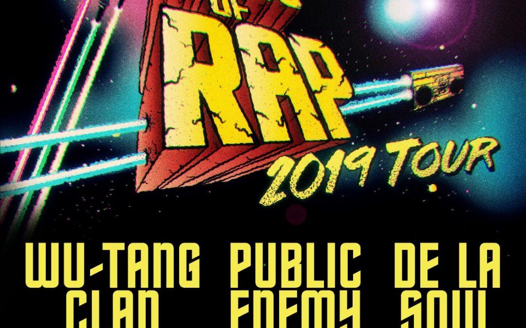 Gods Of Rap tuo Wu-Tang Clanin, Public Enemyn ja De La Soul