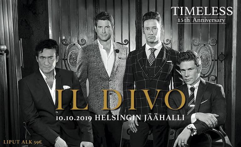 Il Divo palaa Suomeen 15-vuotisjuhlakiertueellaan!