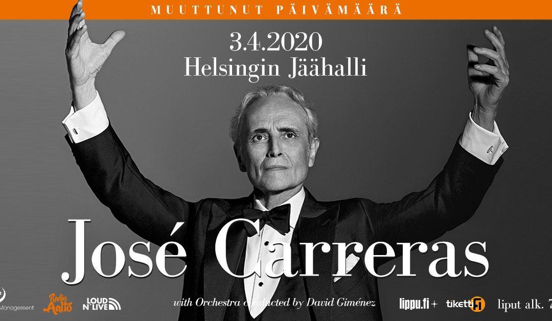 José Carrerasin viimeinen maailmankiertue – Farewell To Music
