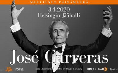 José Carrerasin viimeinen maailmankiertue – Farewell To Music03/04/2020