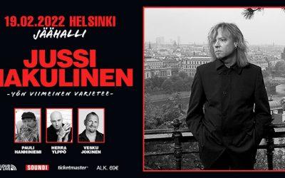 Jussi Hakulinen – Yön viimeinen varietee