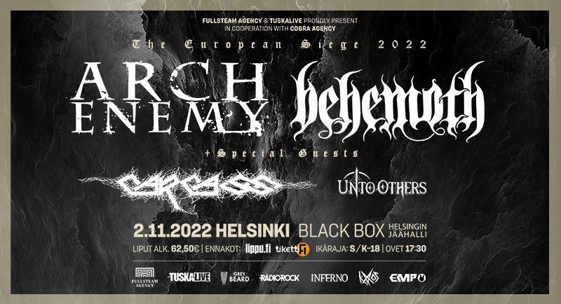 Arch Enemy ja Benemoth